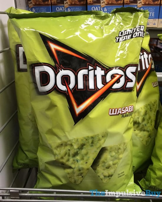 Limited Time Only Doritos Wasabi  2017