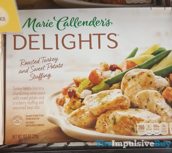 Marie Callender s Delights Roasted Turkey and Sweet Potato Stuffing