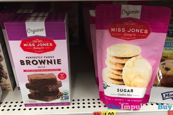 Miss Jones Baking Co Perfectly Fudgy Brownie Mix and Sugar Cookie Mix