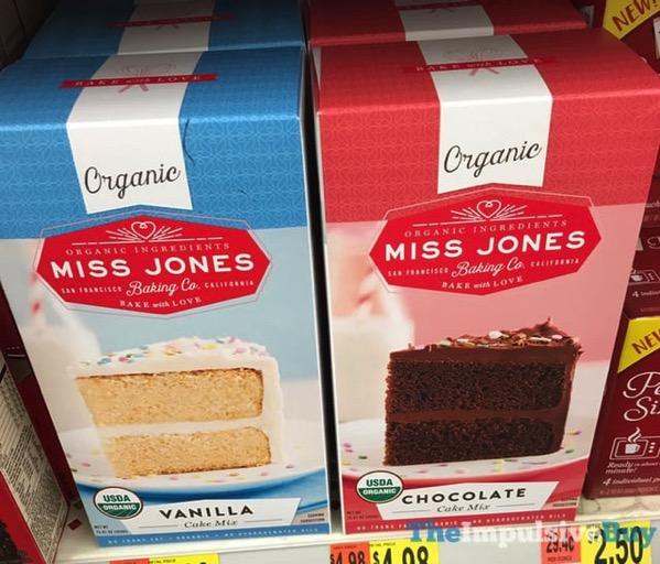 Miss Jones Baking Co Vanilla and Chocolate Cake Mixes
