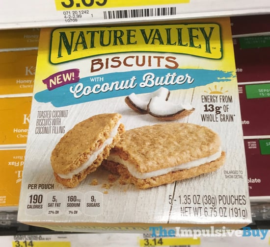 Nature Valley Biscuits with Coconut Butter