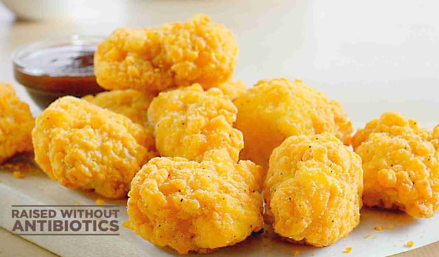 Papa John s Larger Chicken Poppers