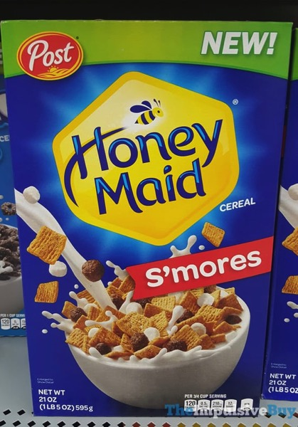 Post Honey Maid S mores Cereal