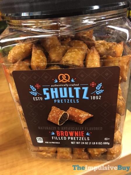 Shultz Brownie Filled Pretzels