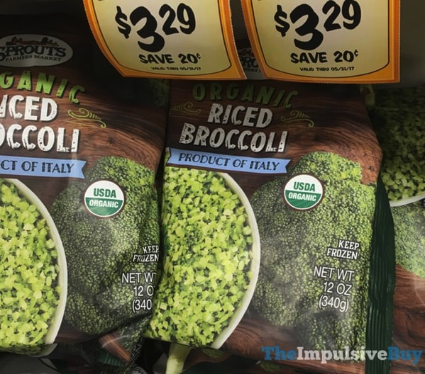 Sprouts Organic Riced Broccoli