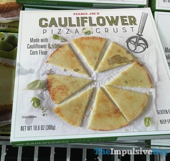 Trader Joe s Cauliflower Pizza Crust