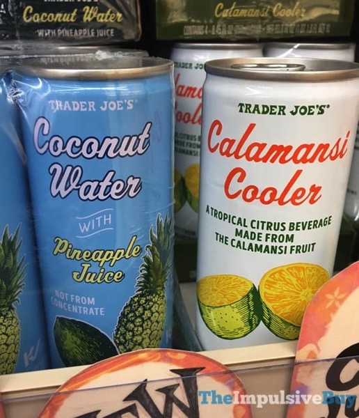 Trader Joe s Coconut Water with Pineapple Juice and Calamansi Cooler