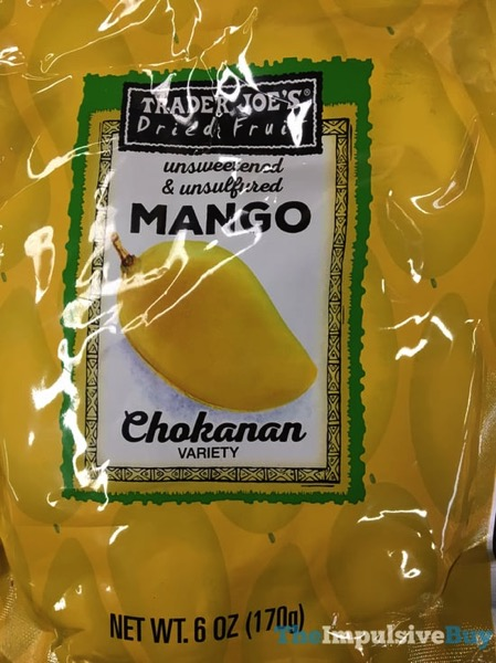 Trader Joe s Dried Fruit Chokanan Mango