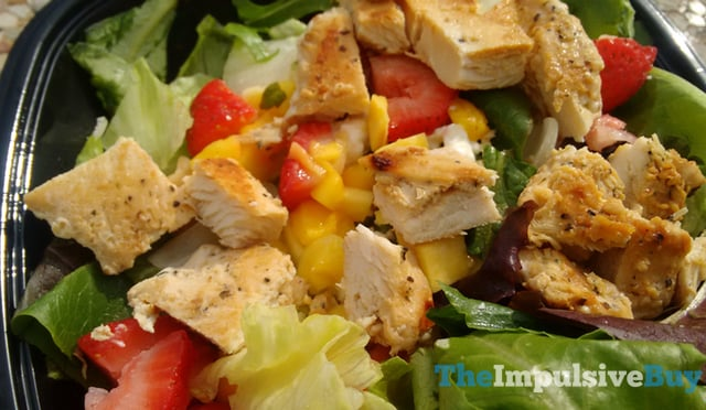 Wendy s Strawberry Mango Chicken Salad 2