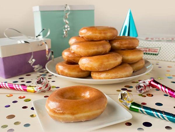 2017 Krispy Kreme 80th birthday