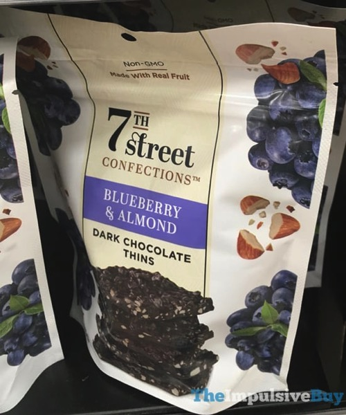 7Th Street Confections Blueberry  Almond Dark Chocolate Thins