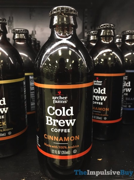 Archer Farms Cinnamon Cold Brew Coffee