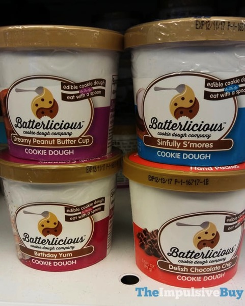 Batterlicious Cookie Dough Company Cookie Dough