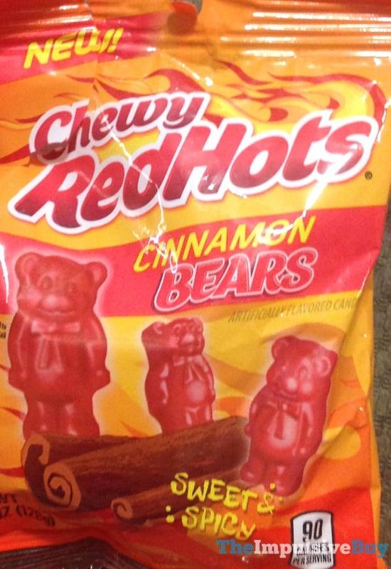 Chewy Red Hots Cinnamon Bears