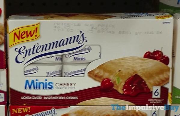 Entenmann s Minis Cherry Snack Pies
