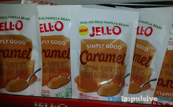 Jello Simply Good Caramel Pudding Mix