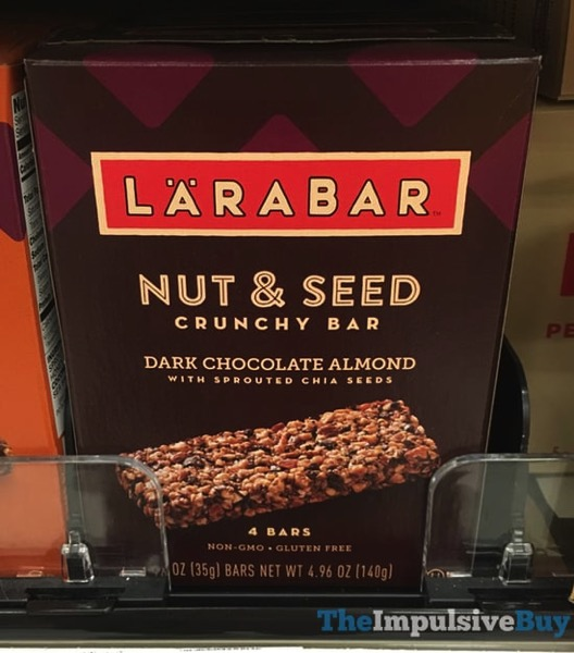 Larabar Dark Chocolate Almond Nut  Seed Crunchy Bar