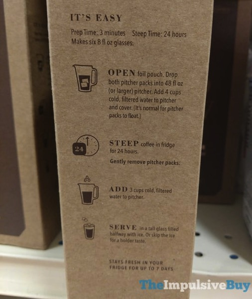 Limited Edition Starbucks Narino 70 Cold Brew Coffee Pitcher Packs 2