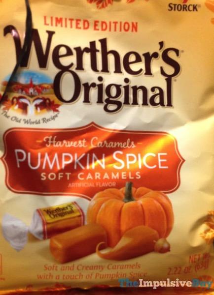 Limited Edition Werther s Original Pumpkin Spice Soft Caramels
