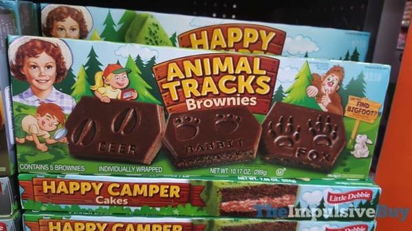 Little Debbie Animal Tracks Brownies