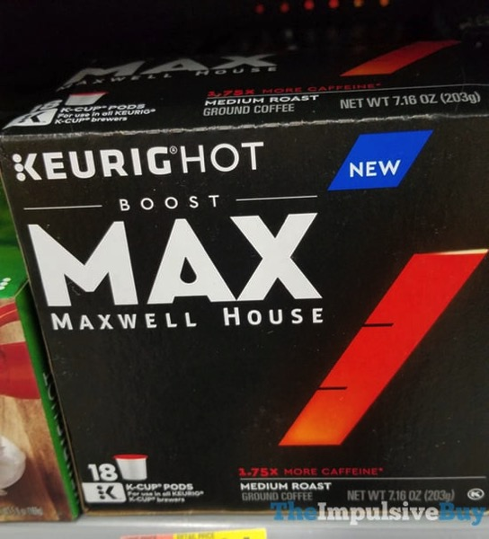 Maxwell House Max Medium Roast Coffee K Cups