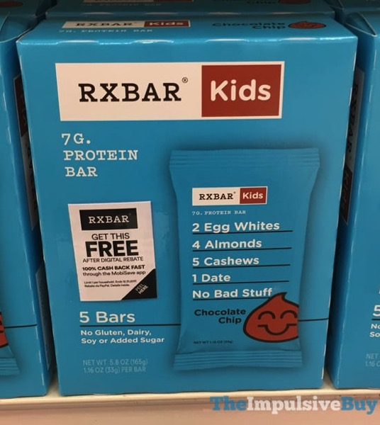 Rxbar Kids Chocolate Chip Bars