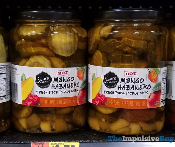 Sam s Choice Mango Habanero Fresh Pack Pickle Chips