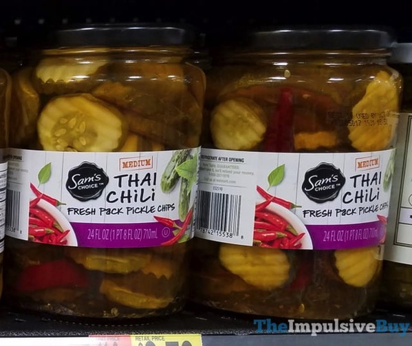 Sam s Choice Thai Chili Fresh Pack Pickle Chips