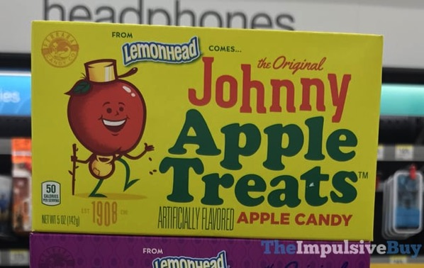The Original Johnny Apple Treats Apple Candy