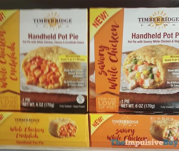Timber Ridge Handheld Pot Pie  White Chicken Enchilada and Savory White Chicken