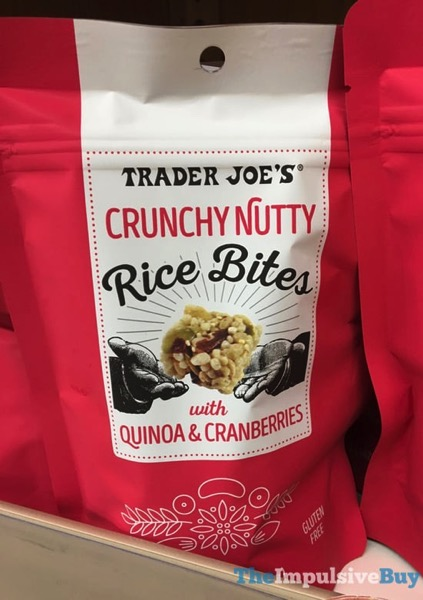 Trader Joe s Crunchy Nutty Rice Bites with Quinoa  Cranberries