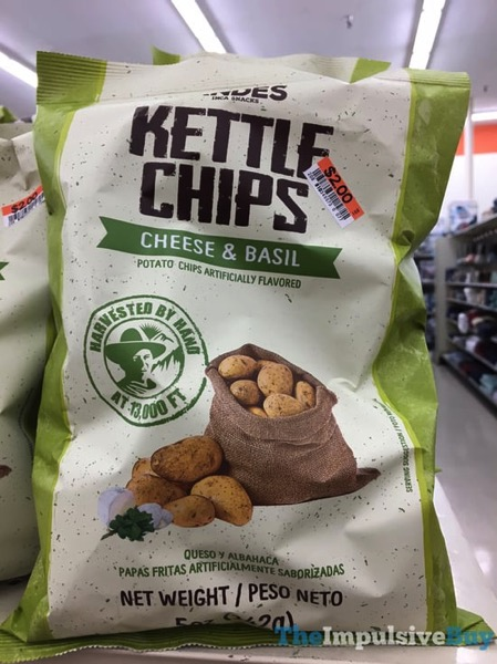 Andes Cheese  Basil Kettle Chips