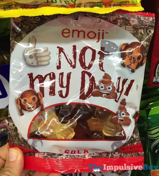 Emoji Not My Day Cola Gummy Candy