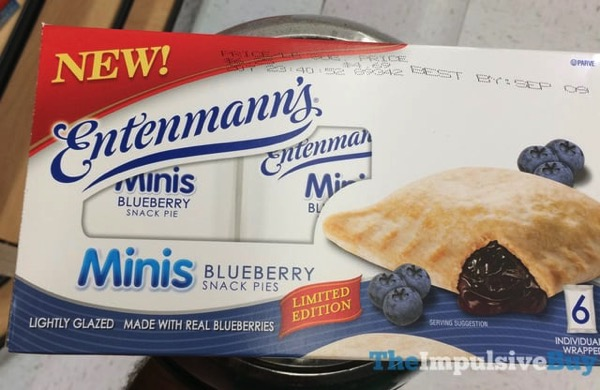 Entenmann s Limited Edition Minis Blueberry Snack Pies