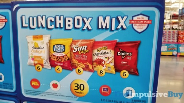 Frito Lay Lunchbox Mix