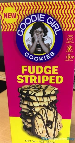 Goodie Girl Fudge Striped Cookies