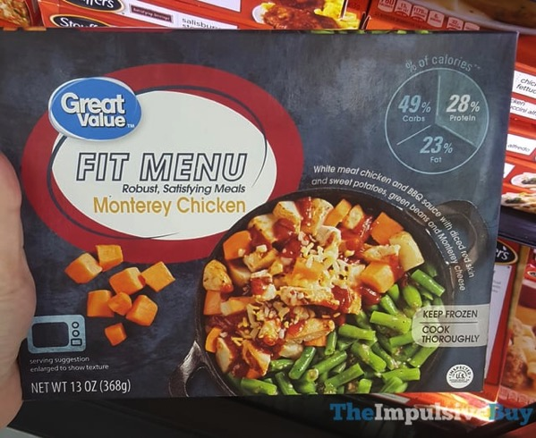 Great Value Fit Menu Monterey Chicken