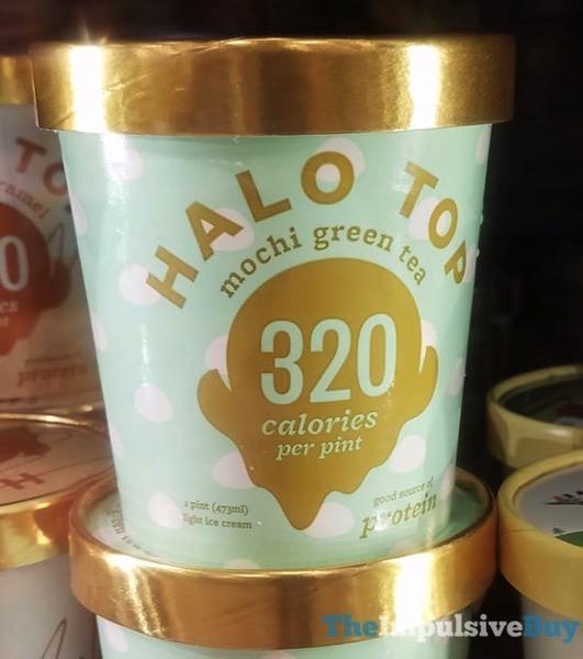 Halo Top Mochi Green Tea Light Ice Cream
