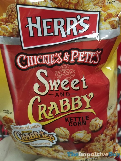 Herr s Chickie s  Pete s Sweet and Crabby Kettle Corn