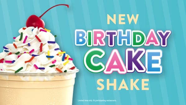 Jack in the Box Birthday Cake Shake