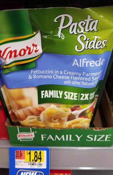 Knorr Family Size Alfredo Pasta Sides
