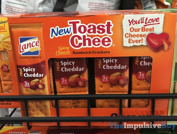 Lance Spicy Cheddar Toast Chee Sandwich Crackers