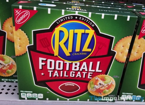 Limited Edition Football Tailgate Ritz Crackers