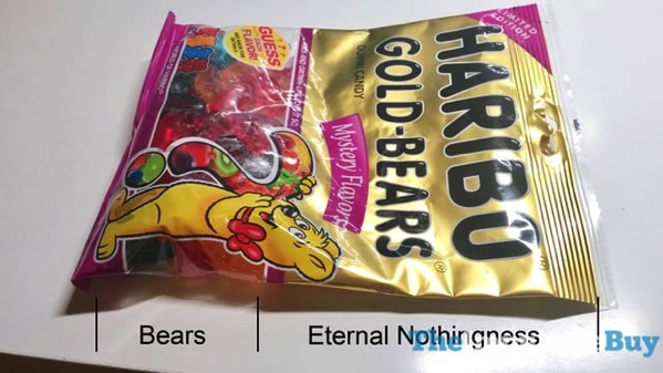 Limited Edition Haribo Gold Bears Mystery Flavors 2