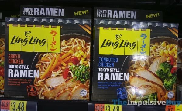 Ling Ling Shoyu Chicken and Tonkotsu Chicken Tokyo Style Ramen