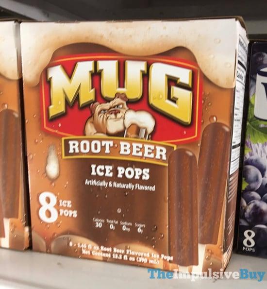 Mug Root Beer Ice Pops