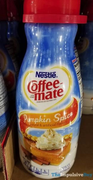 Nestle Coffee mate Pumpkin Spice  2017