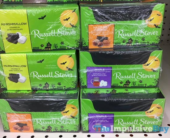 Russell Stover Marshmallow and Maple Marshmallow Pumpkins