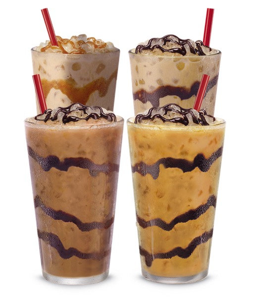 Sonic Iced Coffee Twists