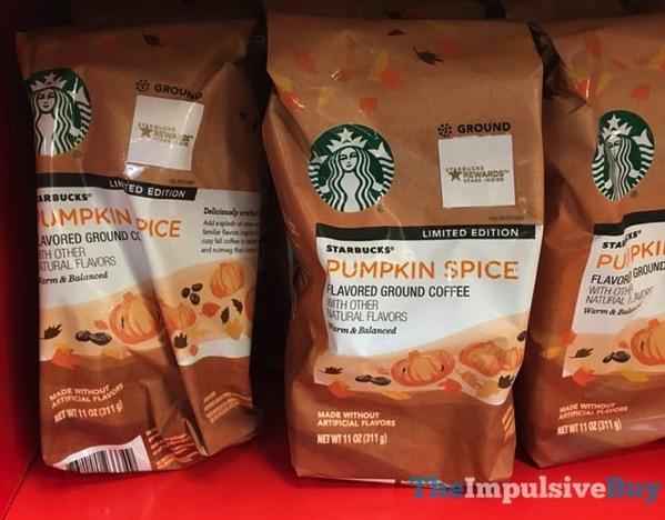 Starbucks Limited Edition Pumpkin Spice Ground Coffee